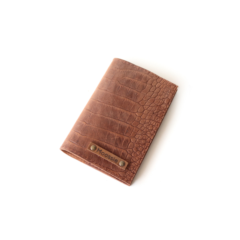 Dieren paspoorthoesje gepersonaliseerd