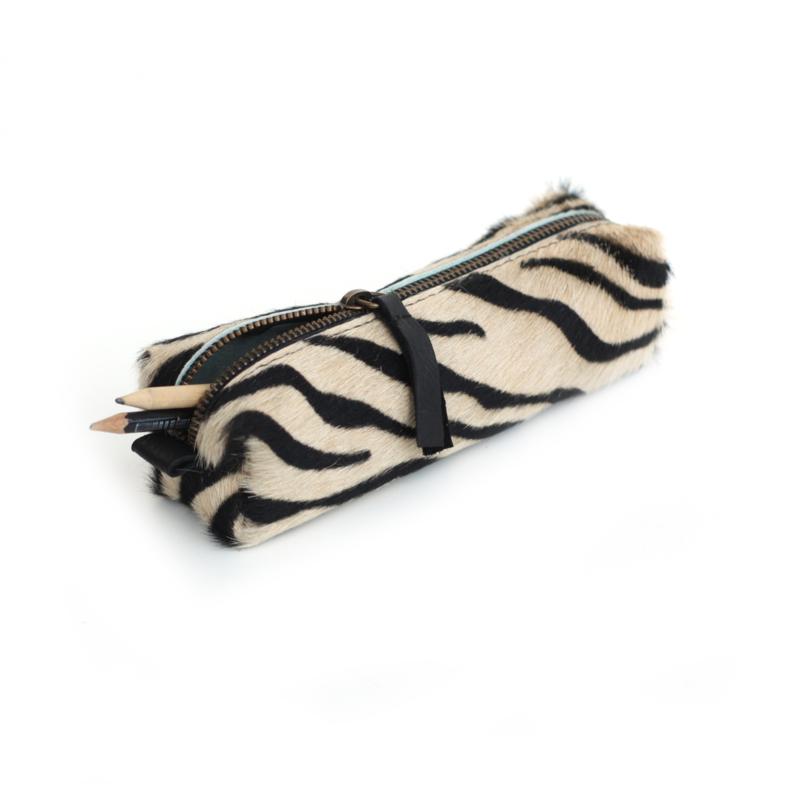 Pennen etui  zebra