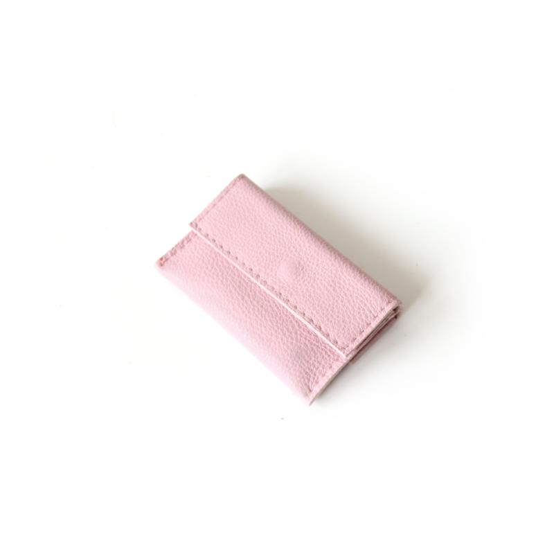 Mini portemonnee No.2 - lila roze