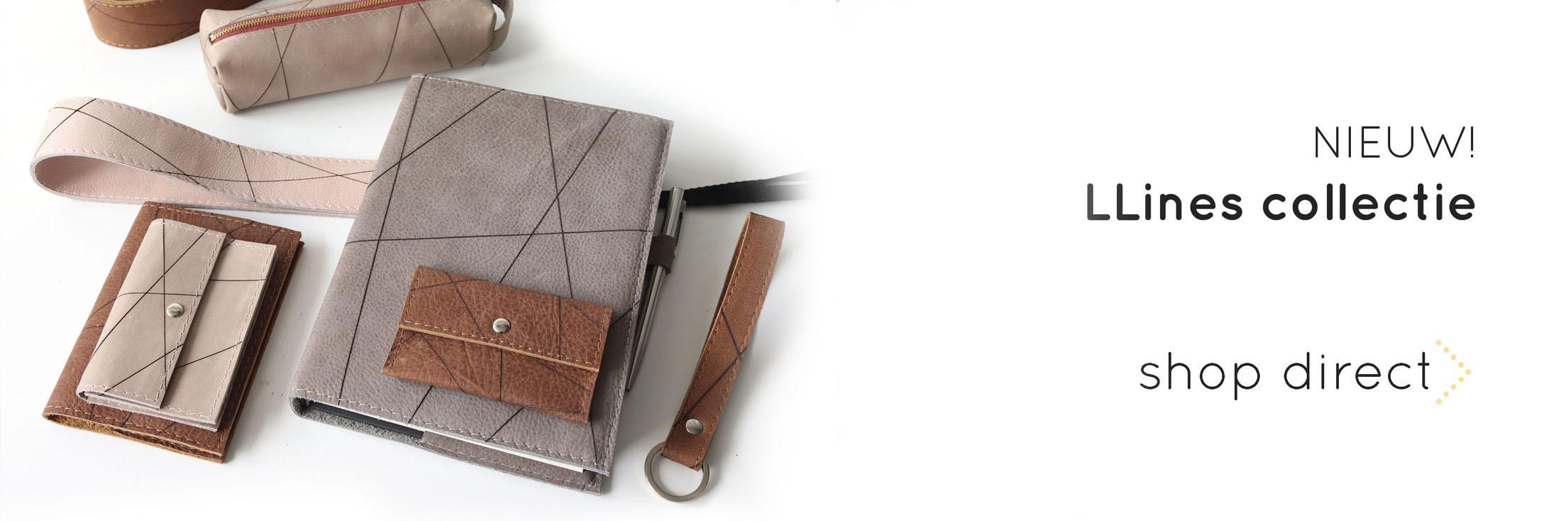 handgemaakte leren camerariem etuis notitieboek