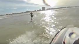 Surf Foil in 360 graden