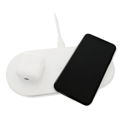 VR-i  Wireless Fast Charger X2 'wit'