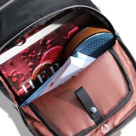 VR-i Bagga padded laptop rugzak 25 liter - zwart
