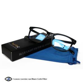 VR-i Blauw Licht Filter Bril, Computerbril | Unisex model Noa