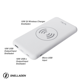 VR-i Wireless Charger  | Powerbank X3 White