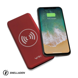 VR-i Wireless Charger  | Powerbank X3 Red