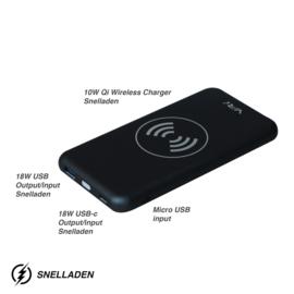 VRi Wireless Charger  | Powerbank X3 Black