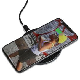 Draadloze oplader - 15W snellader | VR-i Wireless Charger X1 zwart