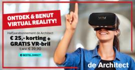 De Architect, VR campagne met VR-i, Het meest toonaangevende architectuurplatform