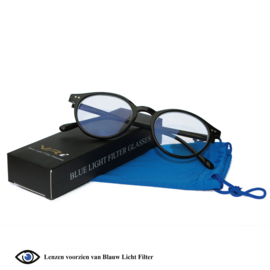 VR-i Blauw Licht Filter Bril, Computerbril | Unisex model Noël