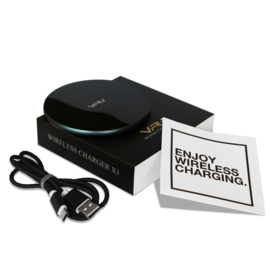 Draadloze oplader - 15W snellader | VR-i Wireless Charger X1 wit