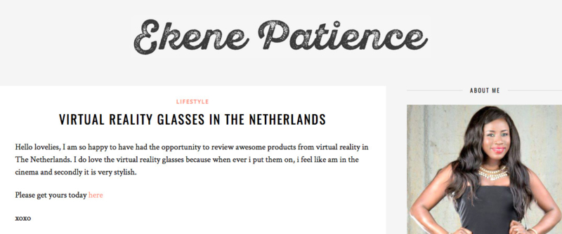 Virtual Reality in the Netherlands