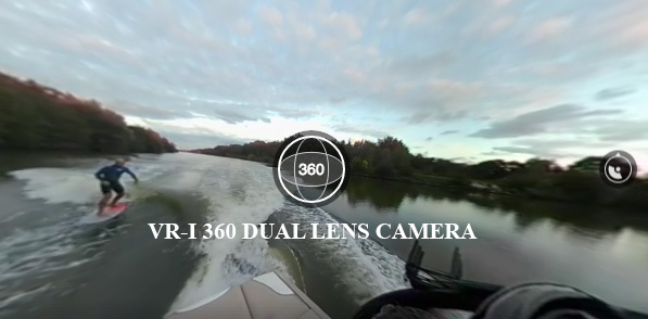Wake foil in 360 graden