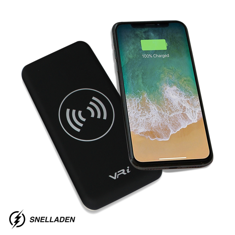 VR-i Wireless Charger  | Powerbank X3 Black