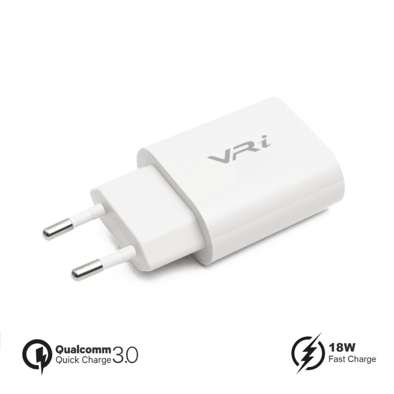 VR-i Fast Charge Adapter QC3.0 Wit