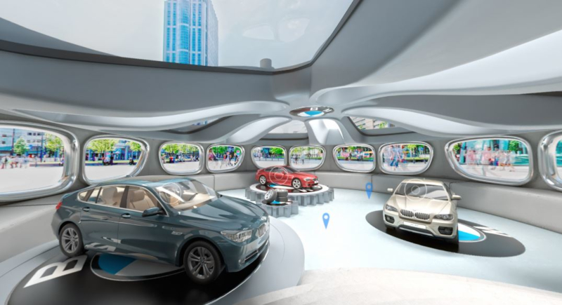 Virtuele showroom BMW