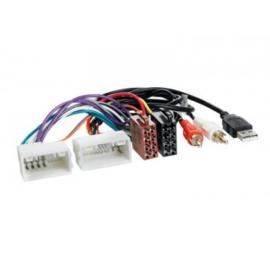 RADIO AANSLUITKABEL DIVERSE MODELLEN HYUNDAI - KIA > ISO NORM > AUX / USB