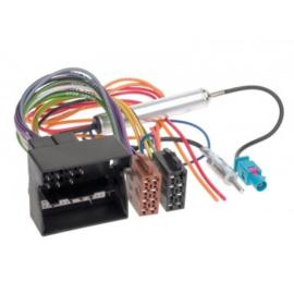 RADIO AANSLUITKABEL DIVERSE MODELLEN OPEL QUADLOCK > ISO NORM / PHANTOM POWER (DIN)