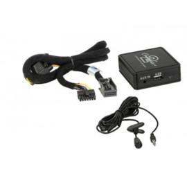 BLUETOOTH ADAPTER PEUGEOT 207/ 307/ 308/ 3008/ 407/ 607/ 807 MET QUADLOCK CONNECTOR