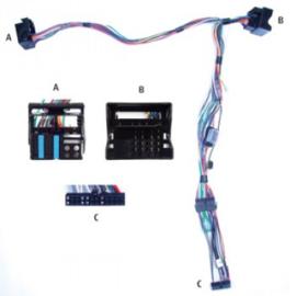 AUDIO2CAR MMI BASIC, 4 SPEAKERS AUDI A6 2004-2008