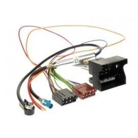 RADIO AANSLUITKABEL DIVESE MODELLEN OPEL QUADLOCK > ISO NORM / PHANTOM POWER (ISO)