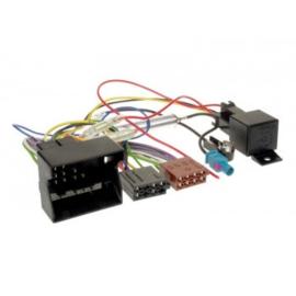 RADIO AANSLUITKABEL DIVERSE MODELLEN OPEL QUADLOCK > ISO NORM / PHANTOM POWER / RELAIS