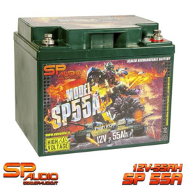 SP55 AGM BATTERY 55A/2000A MAX