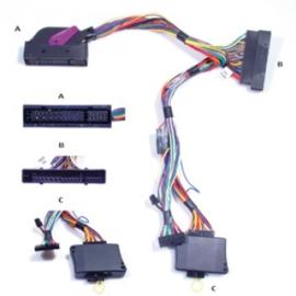 AUDIO2CAR AUDI A6 2004-2011MET BOSE 6000 SYSTEM 13 SPEAKERS (VERSTERKER LINKS ACHTERIN)