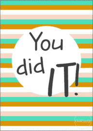 Kaart | You did it