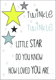 Poster | Twinkle twinkle little star