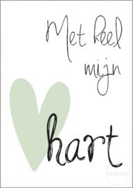 Kaart | Met heel mijn hart