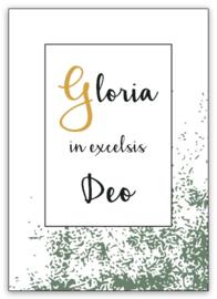 Kaart | Gloria in excelsis Deo