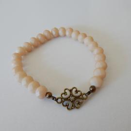 Armband | Mat beige