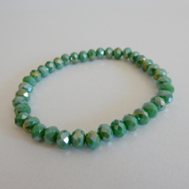 Armband | Groen shine
