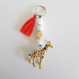 Kindersleutelhanger | Giraffe