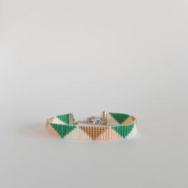 Weefarmband | Driehoekjes