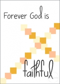 Kaart | Forever God is faithful