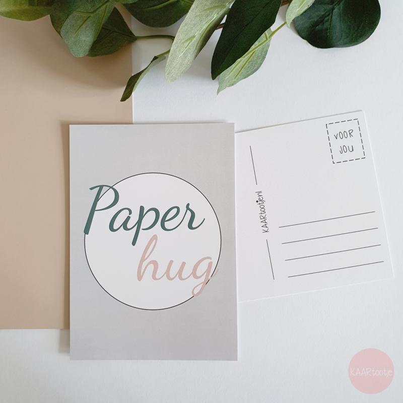 Kaart   Paper hug