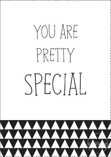 Kadokaartje | You are pretty special