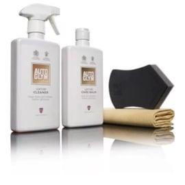 Autoglym Leather Clean & Protect kit