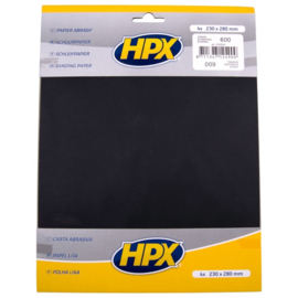 HPX Schuurpapier P600 4st.