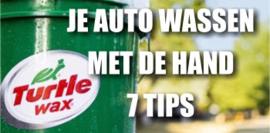 Je auto wassen met de hand 7 tips
