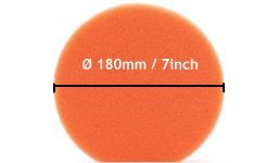 Polijstpads 180mm - 7inch