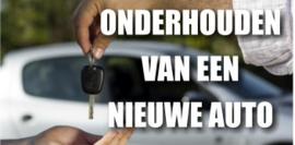 Onderhouden nieuwe Auto