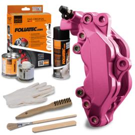 Remklauwlak set -  Candy roze metallic