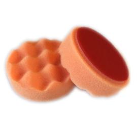 Verekio Polijstschijf Wafel 80mm Oranje Hard 5st