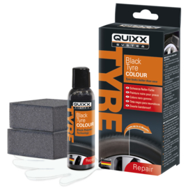 Quixx Black Tyre Colour