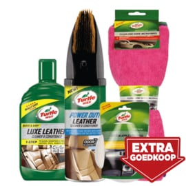 Leer reinigings-set turtle Wax