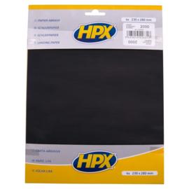 HPX Schuurpapier P2000 4st.