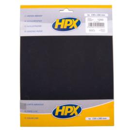 HPX Schuurpapier P1200 4st.